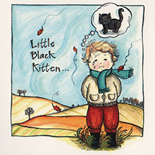 **LATEST BOOK **The Little Black Kitten