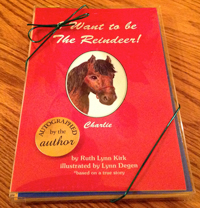 Charlie the Pony Autographed Book Gift Set