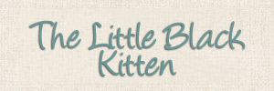 The Little Black Kitten Header